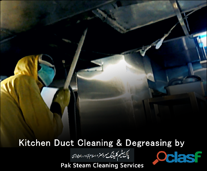 Kitchen Exhaust Hood & Duct Cleaning Services