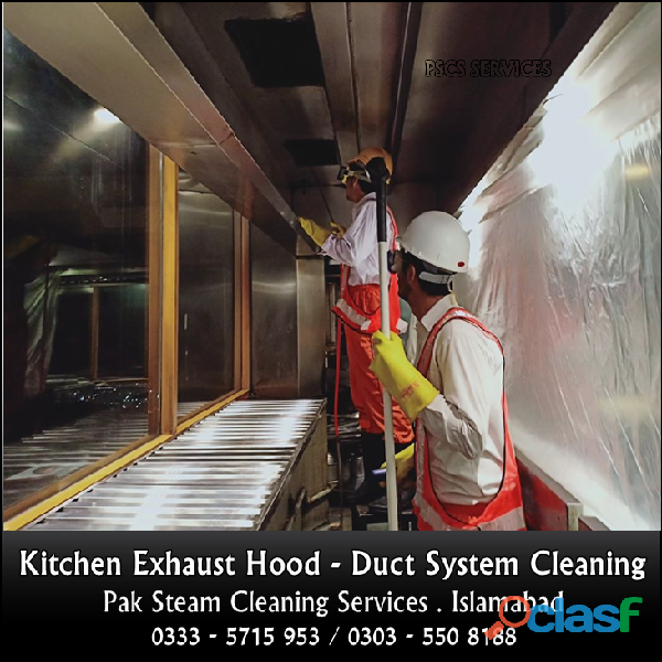 Kitchen Exhaust Hood & Duct Cleaning Services 1