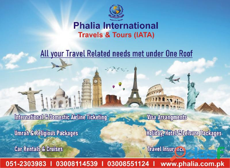 All your travel related need met under one roof