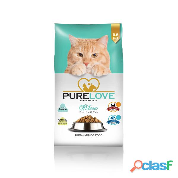 Buy Online Cats Food | PureLoveFoods | Meow Roast Chicken 500G 1