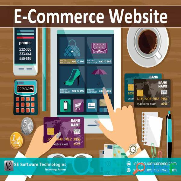 E commerce website development by se technologies