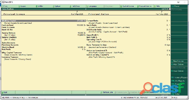 Tally erp 9.0 accounting software