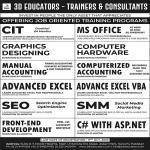 Offering job oriented training program, karachi