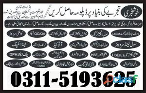 Chef and cooking experienced based course in gujranwala gujrat