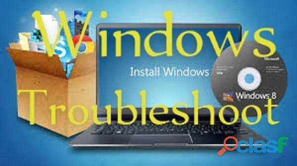 Computer / laptop windows/software install, activation, troubleshoot