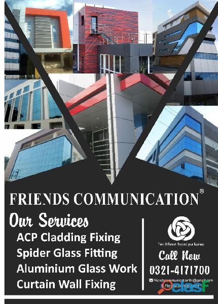 Glass,Glazing,Curtain,Wall,Spider,Fitting,Sliding,Doors,Cladding,ACP,
