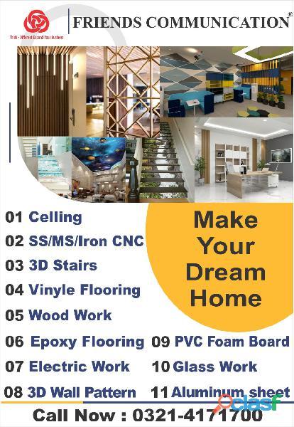 Wall,cladding,aluminum,sheet,glass,fixing,acp,front,elevation,fascia,