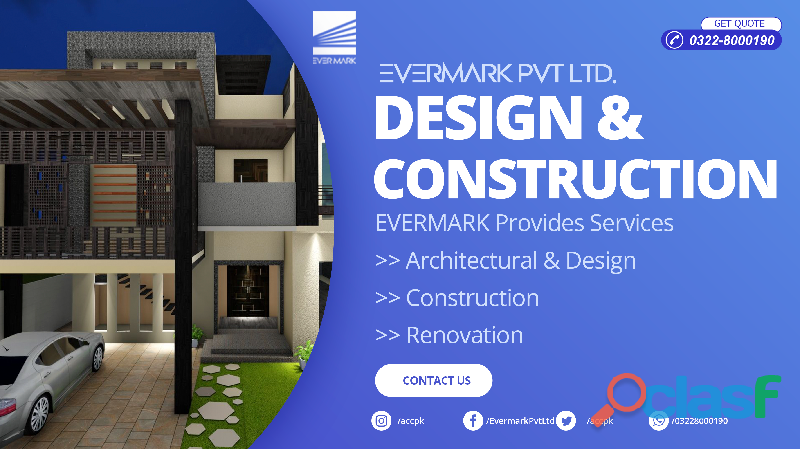 Evermark pvt ltd house construction services