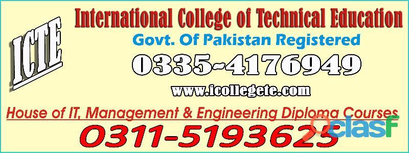 Fast food diploma course in rawalpindi murree road 03115193625