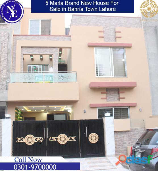 Beautiful 5 marla brand new house for sale in lahore pakistan