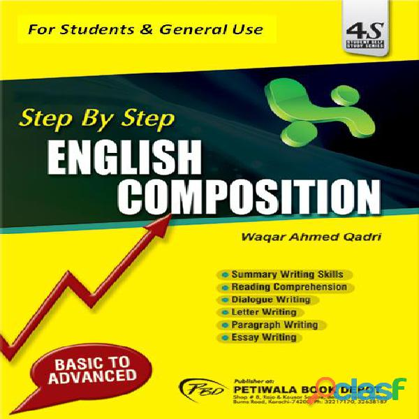 Step by step english composition