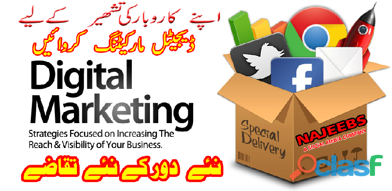 Digital marketing services & social media marketing