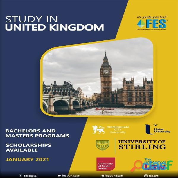 Study Abroad With FES Higher Education Consultants Pvt. Ltd. ../ 5