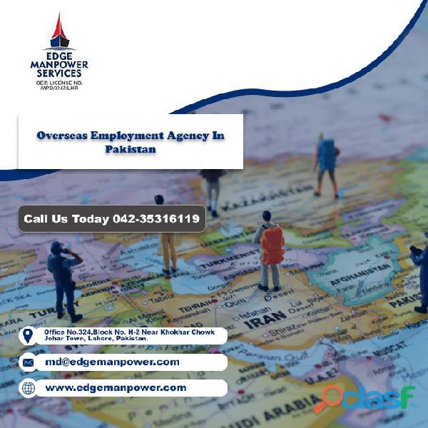 Overseas employment agency in pakistan