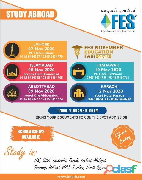 Study Abroad With FES Higher Education Consultants Pvt. Ltd. ../,/./, 6