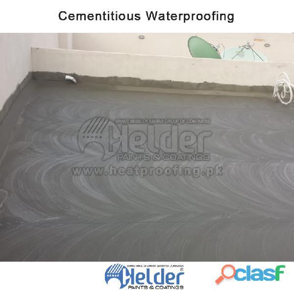 We provide best waterproofing service helder waterproofing chemical can be apply on roof or walls. i