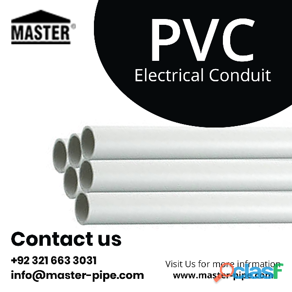 Genuine PVC Electrical Conduit