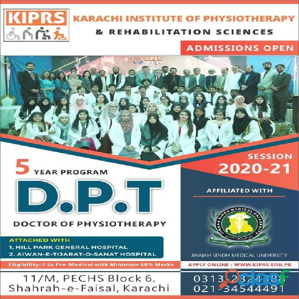 Karachi Institute of PhysioTherapy & Rehabilition Sciences