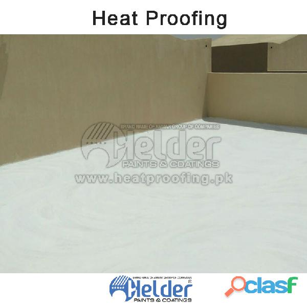 Keep your Home Roof and Walls Cool by HELDER Heat Proofing Chemical