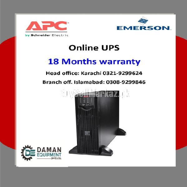 Ups apc surt 1 kva 18 months warranty