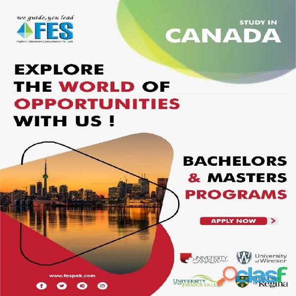 Study Abroad With FES Higher Education Consultants Pvt. Ltd. //';' 1