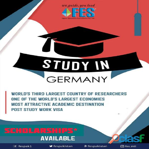 Study Abroad With FES Higher Education Consultants Pvt. Ltd. //';' 2