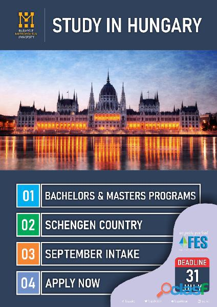 Study Abroad With FES Higher Education Consultants Pvt. Ltd. //';' 3