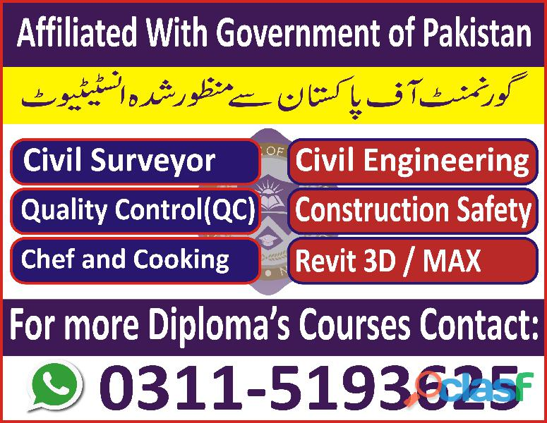 Diploma in Chef and Cooking Course in Sialkot Faisalabad