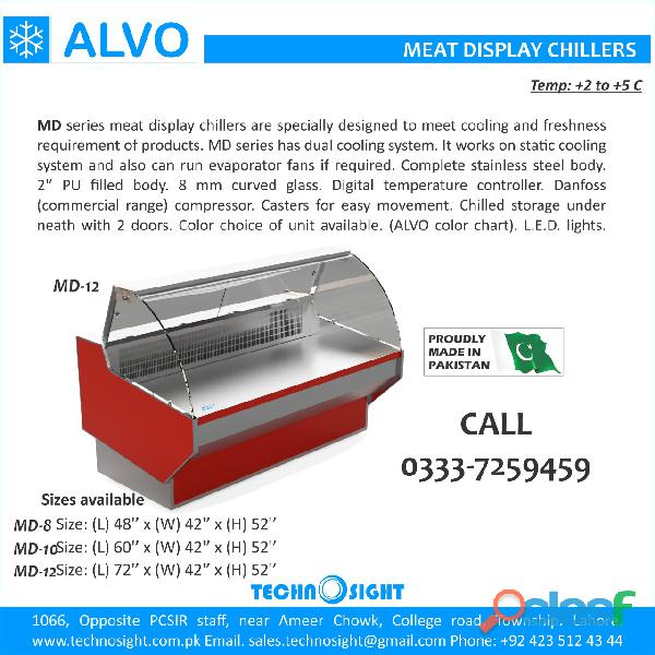 Meat Shop Equipment, Display Chiller for Meat Shop in Pakistan, Chiller for Meat Shop in Pakistan