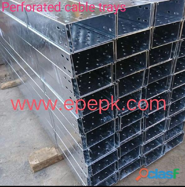 Cable tray in pakistan | cable trays perforated | gi cable tray..