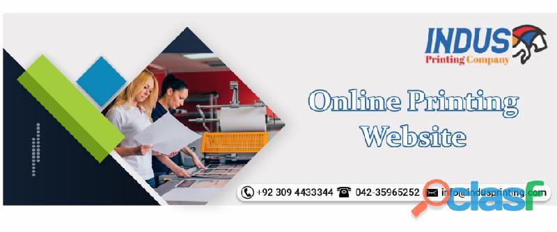 Online printing website