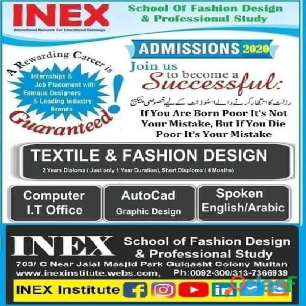 Fashion design & information technology multan
