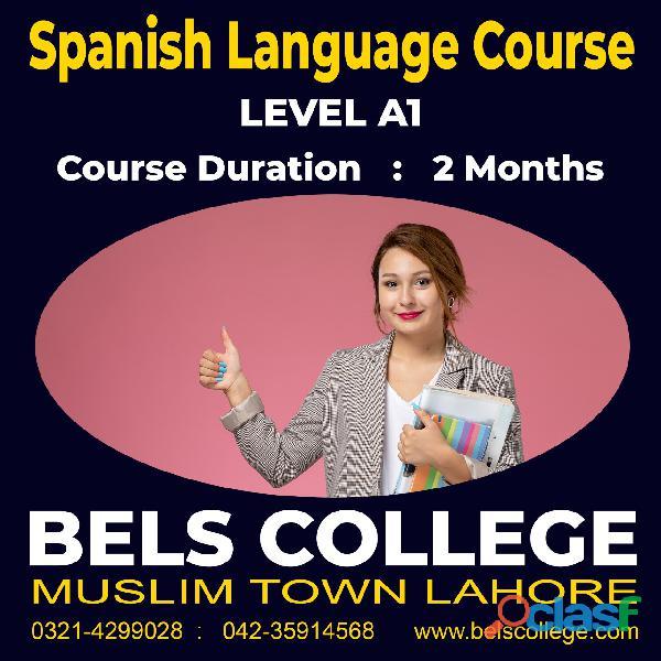 Best spanish language institute in lahore pakistan bels college