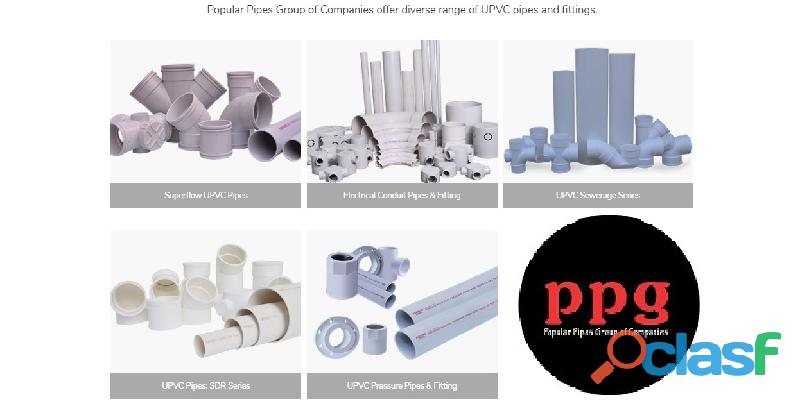 Popular pipes are the best plastic pipes manufacturers in pakistan pvc pipes