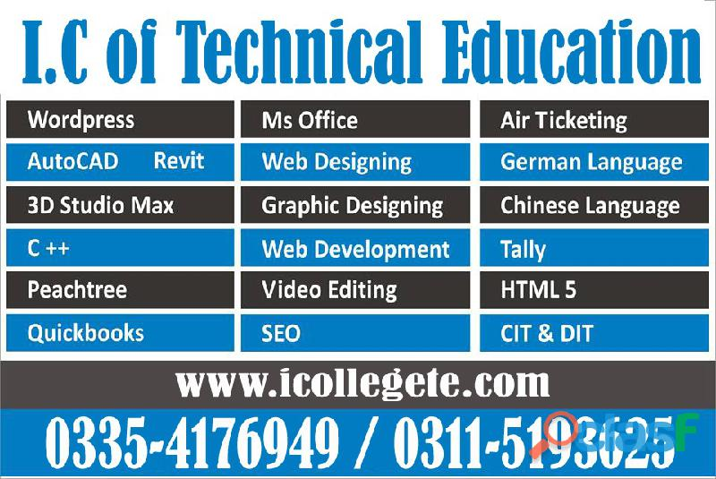 Certification in information technology (cit) course in rawalpindi islamabad