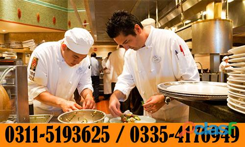 Diploma in chef and cooking course in faisalabad sialkot