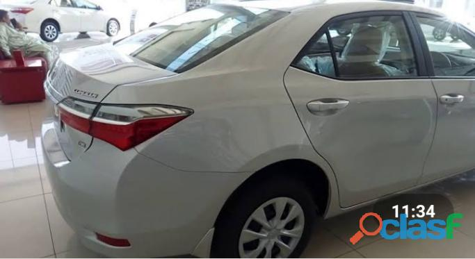 Toyota corolla gli get on easy monthly installment