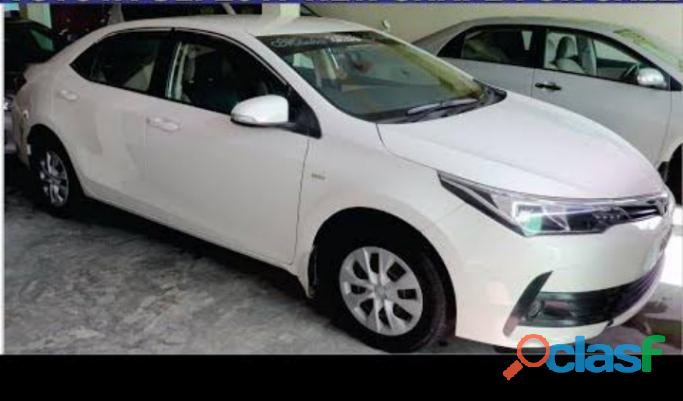 Toyota corolla xli get on easy monthly installment