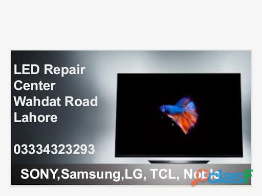 Led tv repair center sony samsung tcl nobel orient lg