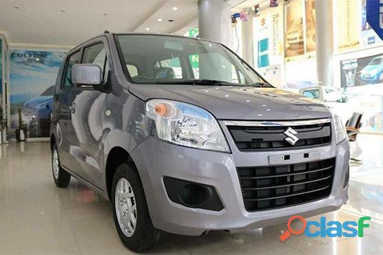 Suzuki wagon r on easy monthly installment..
