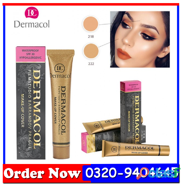 Dermacol make up cover legendary high covering foundation in pakistan