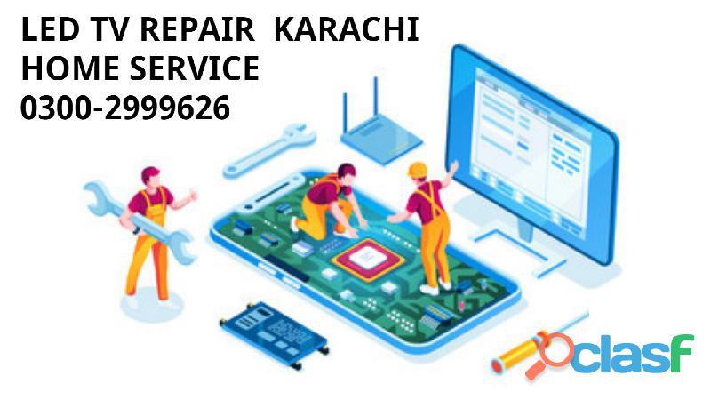 Led tv repair karachi 0300 999626