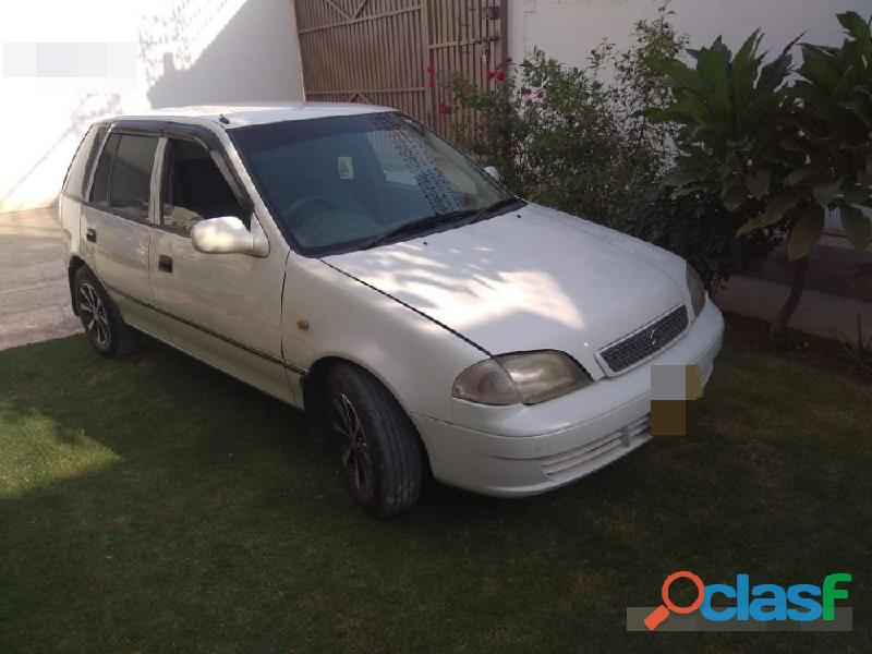 Suzuki cultus vxl now available on easy monthly installment