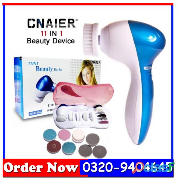 11 in 1 face massage/callous remover multi function device pakistn