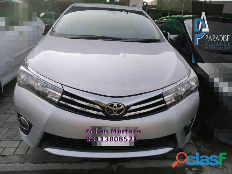 Get a toyota corolla altis grand cvt i 1.8 2017 for comfortable drive