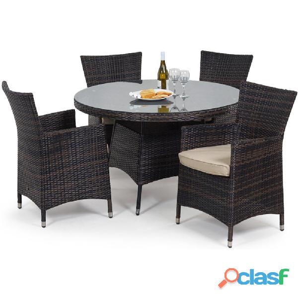 Winoutdoor rattan chair set garden furniture