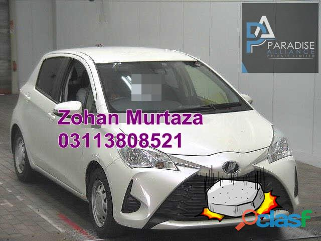 Get toyota vitz f smile edition 1.0 2017 on easy monthly instalment plan of paradise alliance pvt