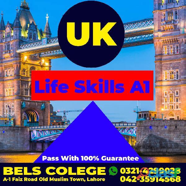 Spouse uk english a1 life skills test pass with guarantee pakistan