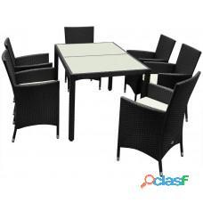 Win outdoor ruttun dining chairs