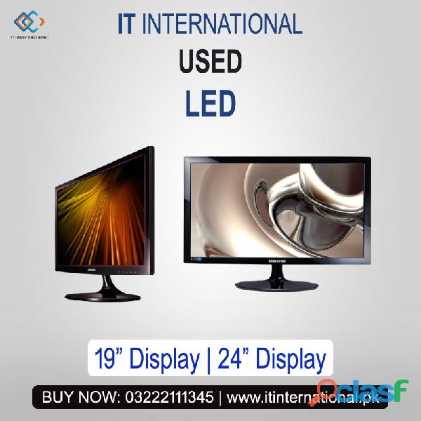 "Contact for best used ""led"" with lowest price in pakistan."